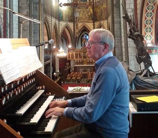 Organist Erwin Van Bogaert